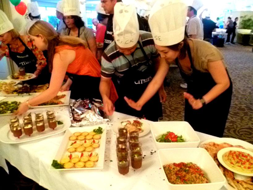 Cooking Team Building with VictorsFood MasterChef Challenge